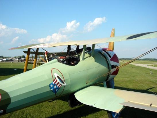 Nieuport 28 starboard